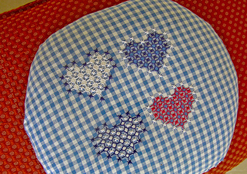 How to Cross-Stitch on Gingham | eHow