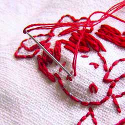 Embroidery - Wikipedia, the free encyclopedia