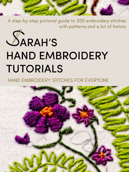 Sarah's Hand Embroidery Tutorials Book