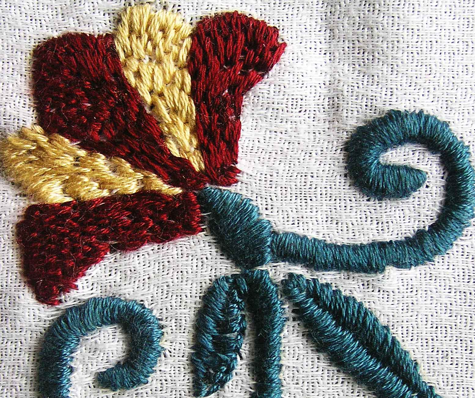 Whipped satin stitch sarah s hand embroidery tutorials