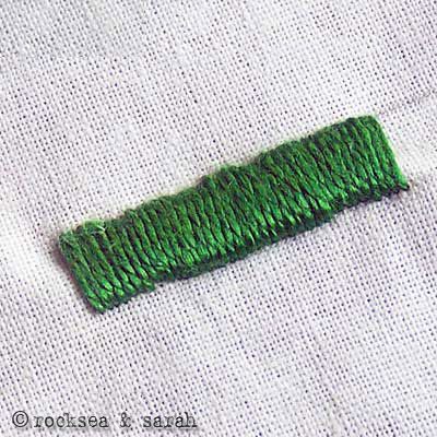 Satin Stitch Sarahs Hand Embroidery Tutorials