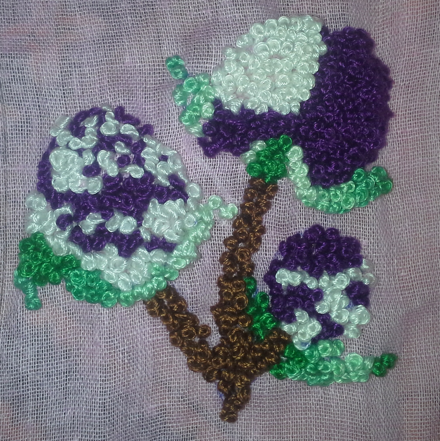 French Knot Sarahs Hand Embroidery Tutorials