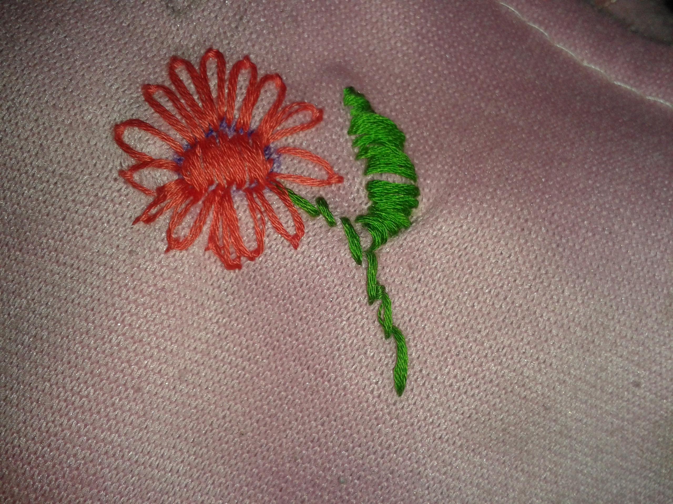 Lazy daisy sarah s hand embroidery tutorials