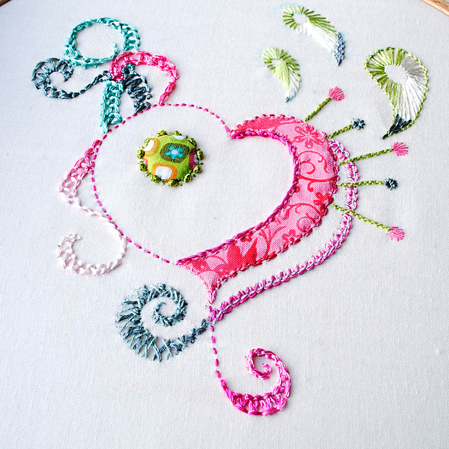 Knotted diamond stitch sarah s hand embroidery tutorials