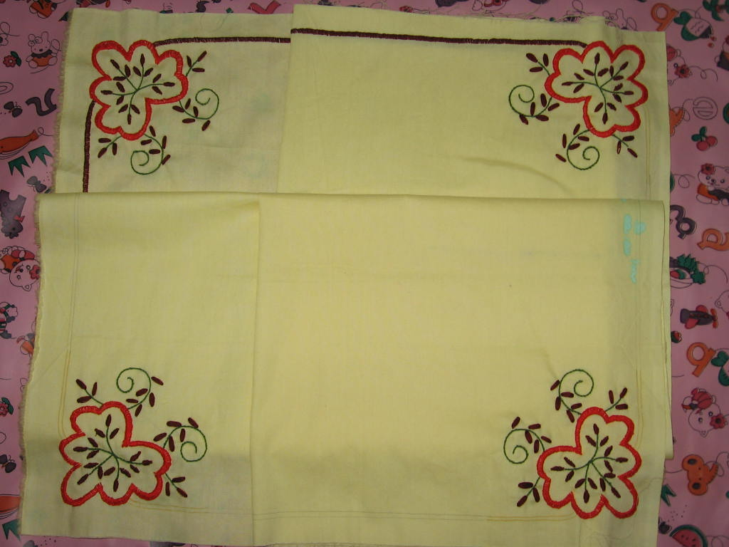Outline embroidery designs for tablecloth - Outline Embroidery Designs For Tablecloth 9