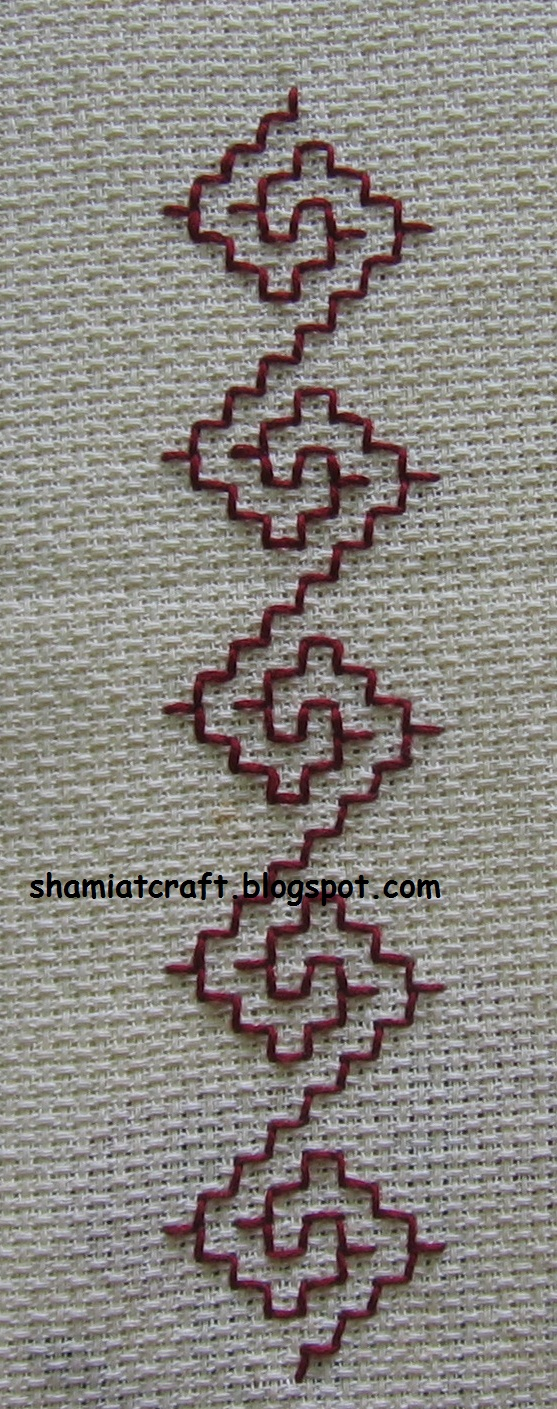 Kasuti Lesson 1 Sarahs Hand Embroidery Tutorials