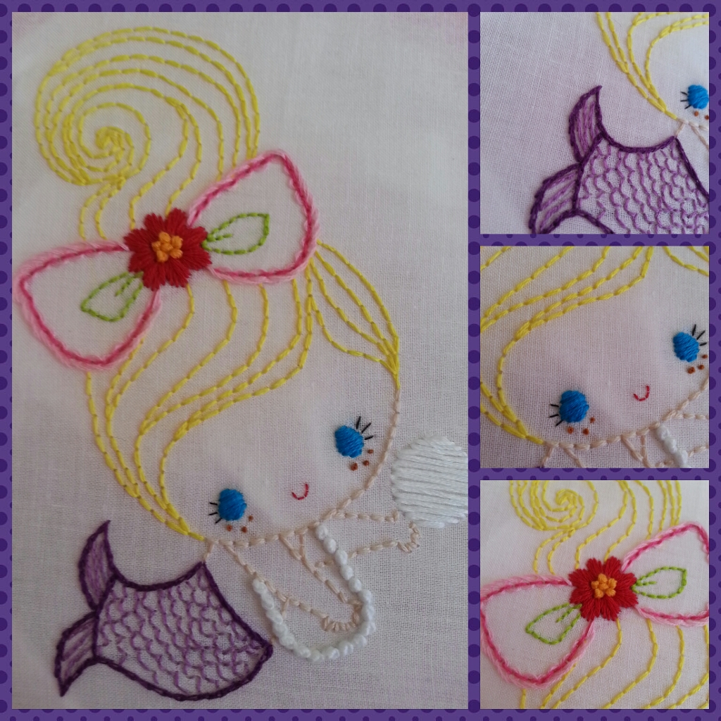 Thanks So Much For Your Tutorials You Explain It So Clear & Easy I Made  My 1st Hand Embroidery I Love Your Website! Thank You!