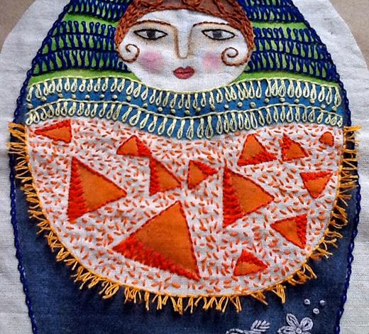 Turkey Rug Knot Sarahs Hand Embroidery Tutorials