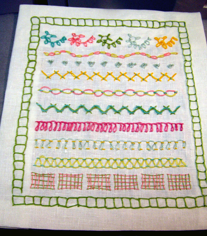 Gods Eye Stitch Sarahs Hand Embroidery Tutorials